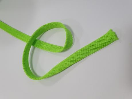 Шнур отделочный 12-15мм лайм ШО026