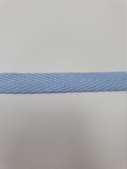 Тесьма киперная голубой хлопок 2,5 г/см 10мм ТК105