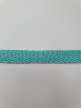 Тесьма киперная мятный хлопок 2,5 г/см 10мм ТК107
