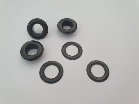 Люверсы сталь №5 никель черный ЛЮ001