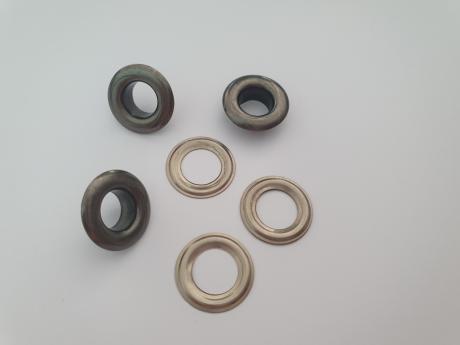 Люверсы сталь №5 никель ЛЮ002