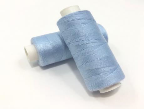 Нитки №376 голубой DorTak