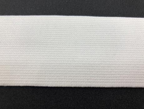 Резинка тканая белая ш0,45 РТ001