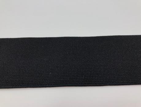 Резинка тканая черная ш0,50 РТ002
