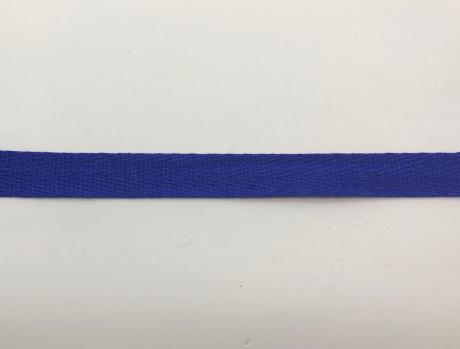 Тесьма киперная синий хлопок 2,5г/см 15мм ТК012