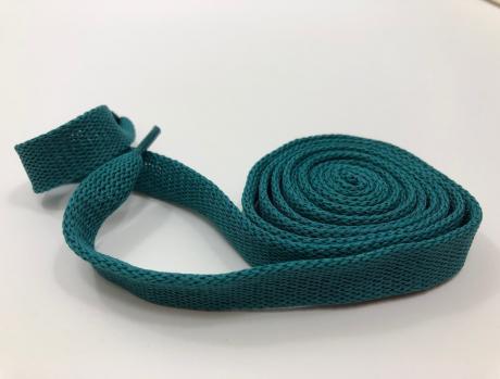 Шнурки плоские ментол 14мм 150см ШП009