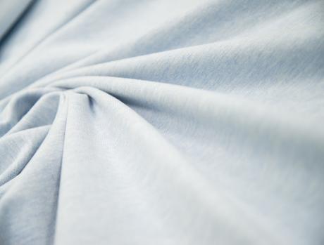 Футер 2-х ниточный б/н ПРЕМИУМ Светло-Голубой Меланж 2БН008 (БРАК)