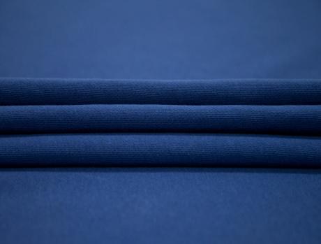 Футер 3-х ниточный б/н 100% хб сине-фиолет 3БН011