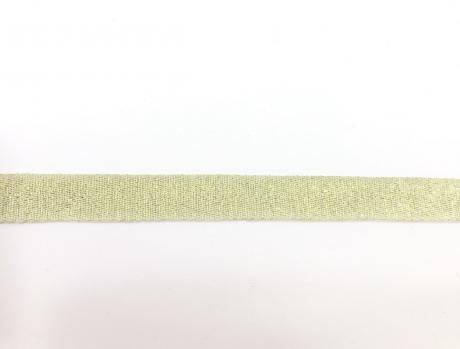 Тесьма киперная металл желтый пэ 16мм ТК029