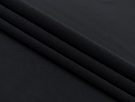 Футер 2-х ниточный б/н Черный 2БН023