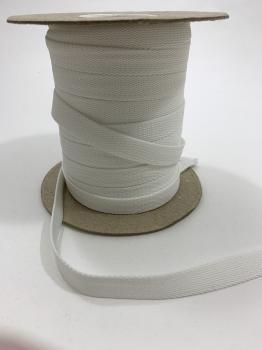 Шнур отделочный 12-15мм белый ШО001
