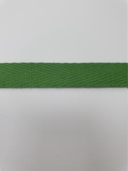 Тесьма киперная зеленый хлопок 1,8г/см 13мм ТК031