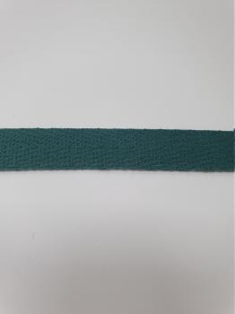 Тесьма киперная морская волна хлопок 1,8г/см 13мм ТК036