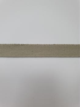 Тесьма киперная льняной хлопок 1,8г/см 13мм ТК037