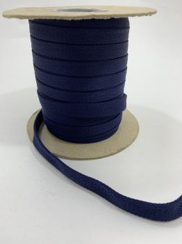 Шнур отделочный 12-15мм темно-синий ШО010
