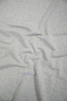 Футер 3-х ниточный б/н 50 хб 50 пэ Серый меланж оптик 3БН021