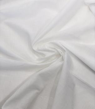 Батист 73гр/м2 140см 100% хб Белый БТ002
