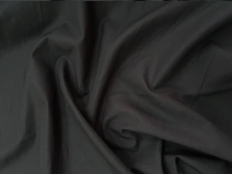 Поплин 102гр/м2 147 см 100% хб Черный ПН010