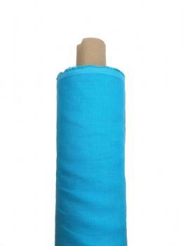 Ткань костюмная 100% лен 150см Бирюза ЛК008