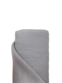 Ткань костюмная 100% лен 145см Пепельный ЛК009