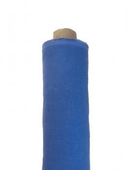 Ткань блузочно-сорочечная 100% лен 150см Деним ЛС006
