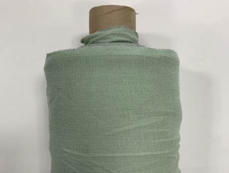 Ткань костюмная 100% лен 150см Мята ЛК016