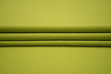 Футер 3-х ниточный б/н 100% хб Сочная оливка 3БН025
