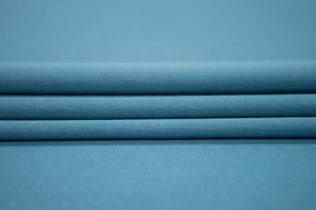 Футер 3-х ниточный б/н 100% хб Синий туман 3БН027