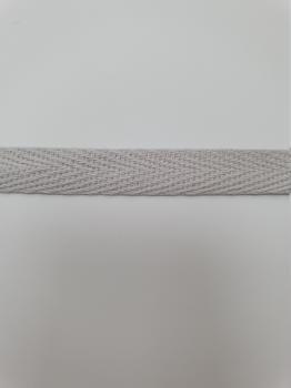 Тесьма киперная серый хлопок 2,5г/см 10мм ТК066
