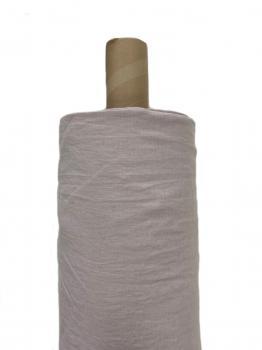 Ткань костюмная эффект мятости 100% лен 245см Пудра ЛК028