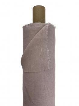 Ткань костюмная 100% лен 150см Пудра ЛК023