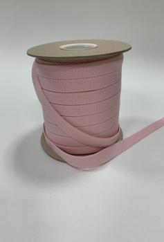 Шнур отделочный 12-15мм светло-розовый ШО016