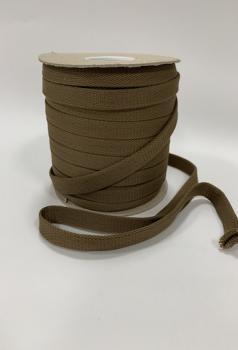 Шнур отделочный 12-15мм древесный дым ШО019