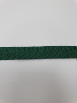 Тесьма киперная темно-зеленый хлопок 2,5 г/см 10мм ТК074